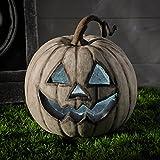 White LED Battery Operated Halloween Pumpkin Light