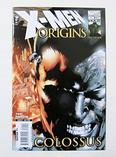 【コロッサス X-MEN ORIGINS: COLOSSUS】#1 ONE-SHOT 中古アメコミ(洋書) MARVEL <2008年>