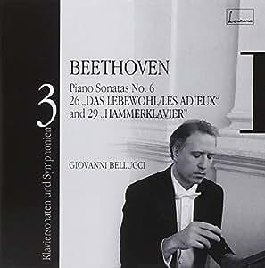 Beethoven : Sonates Op.106 Hammerklavier, Op.81a