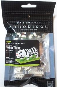 nanoblock ホワイトタイガー