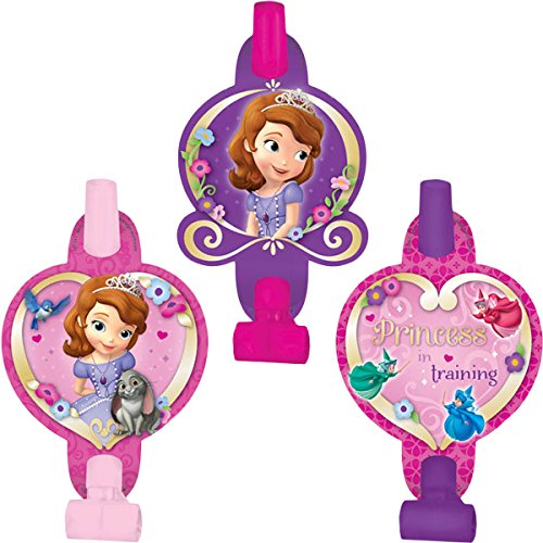 8 Count Sofia The First Blowouts, Multicolored