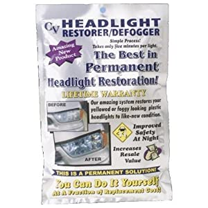 Headlight Restoration Kit/Defogger from Crystal View Chemicals