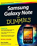 Dan Gookin Samsung Galaxy Note For Dummies