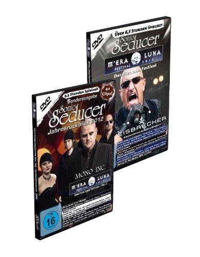 M'Era Luna 2012 - Der Film (Teil 1 + 2) + Sonic Seducer 12-2012 + Jahresrückblick 2012 + exklusive EP von Mono Inc., Bands: Estampie, And One, Joachim ... Muse u.v.a., Spielzeit: über 10 Stunden