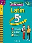 Latin 5e : cahier de r�vision et d'en...