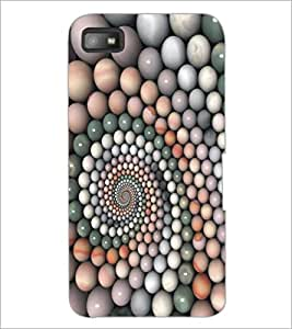 PrintDhaba Pattern D-5363 Back Case Cover for BLACKBERRY Z10 (Multi-Coloured)