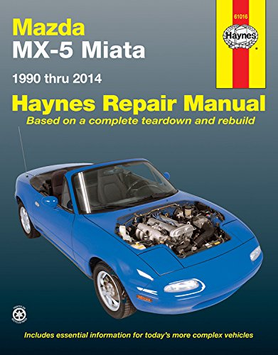 Mazda MX-5 Miata Automotive Repair Manual: 1990-2014 (Hayne's Automotive Repair Manual)