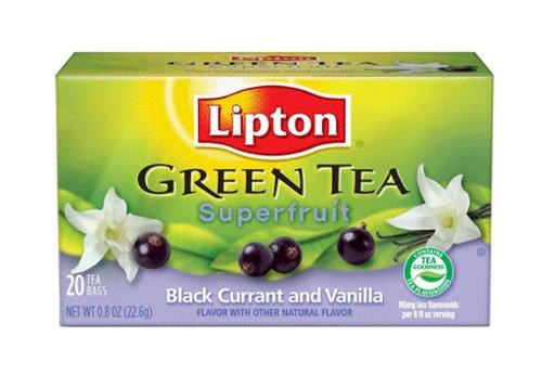 green vanilla tea book review