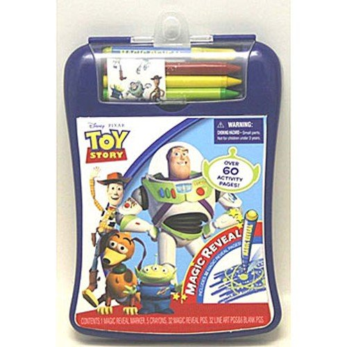 Toy Story 3 Magic Reveal Activity Pad with Markers ~ Colors&Styles Vary