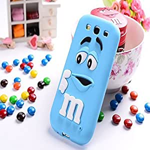 New Style M&M's Chocolate Cartoon Design Soft Silicon Rubber Material Cover Phone Case For Samsung Galaxy E5