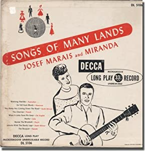 Marais Miranda More Nature Songs From Ballads For The Age Of Science