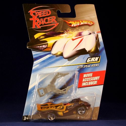 GRX WITH SPEAR HOOKS Hot Wheels SPEED RACER 1:64 Scale Movie Vehicle