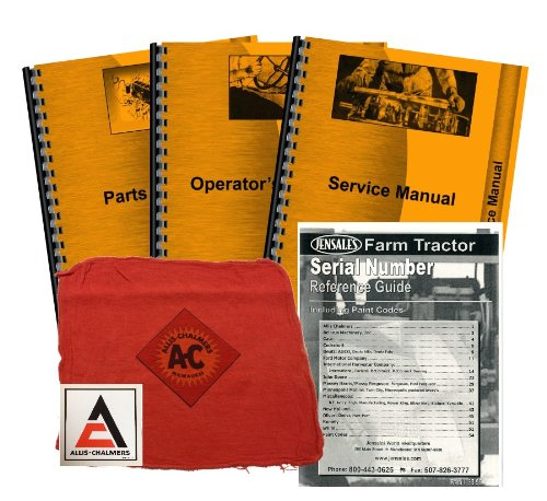 Allis Chalmers 6140 Deluxe Tractor Manual Kit
