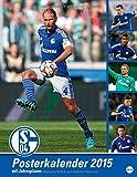 FC Schalke 04 Posterkalender 2015: Jahresuebersicht 2015 mit Spielergeburtstagen