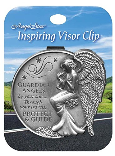 Angelstar 15690 Stars Guardian Angel Visor Clip Accent, 2-1/2-Inch (Guardian Angel Clip compare prices)