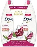 Dove go fresh Body Wash, Revive 14.5 oz, Twin Pack