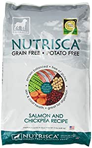 Dogswell Nutrisca Dog Food, Salmon and Chickpea, 15-Pound Package