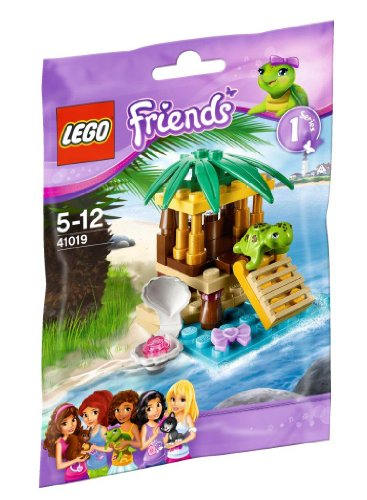 Lego Friends turtle and Petit Oasis 41019 (Lego Friends Oasis compare prices)
