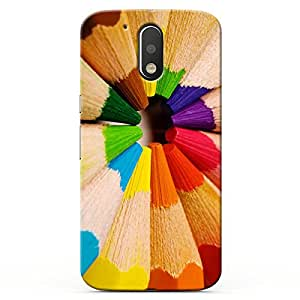 Kaira High Quality Printed Designer Back Case Cover for Motorola Moto G4 / G4 Plus ( 4rth Generation) (pencils2 )