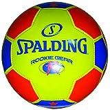 Spalding Rookie Gear Soccer Ball, Size 3, Orange/Yellow