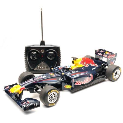 Full Function Radio Controlled - 1/18 Scale 2011 Sebastian Vettel Red Bull RB7 Radio Remote Control Formula One F1 Racing Car R/C
