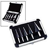 5 PC Metric HSS Step Drill Set Neiko Tools