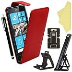 BAAS� Coque Nokia Lumia 520 Rouge Etu...