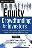 img - for Equity Crowdfunding for Investors: A Guide to Risks, Returns, Regulations, Funding Portals, Due Diligence, and Deal Terms (Wiley Finance) book / textbook / text book