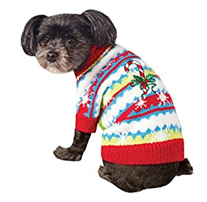 Rubies Costume Ugly Sweater with Candy Cane, Small