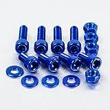 Aluminium Fuel Cap Kit Suzuki GSF1200 Bandit Blue