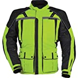 Tour Master Transition Series 3 Jacket - Large Long/Hi-Vis Yellow/Black