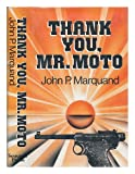 Thank You Mr Moto (0285628046) by Marquand, John P