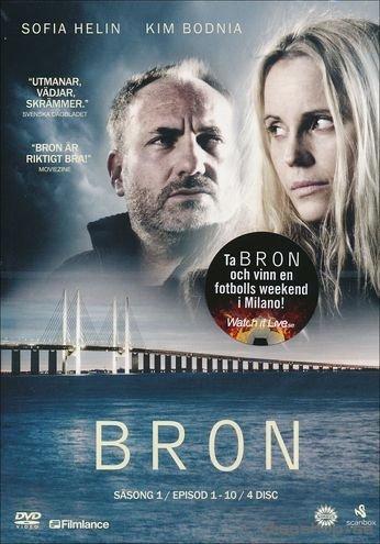 The Bridge - Season 1 (Ep. 1-10) - 4-DVD Box Set ( Bron (Broen) ) ( The Bridge - Season One - Episodes One to Ten ) [ Origen Sueco, Ningun Idioma Espanol ]