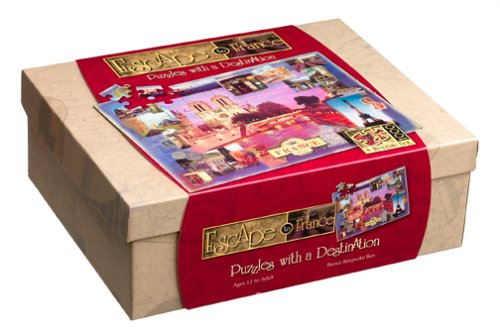 Escape to France - Puzzles with a Destination by Great American Puzzle Factory