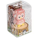 Pink Owl Rubber Pencil Sharpener