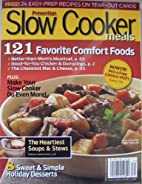 Slow Cooker Meals (Prevention) by Liz…