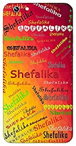 Shefalika (a flower) Name & Sign Printed All over customize & Personalized!! Protective back cover for your Smart Phone : Samsung Galaxy A-5