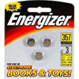 Energizer 357BP-3 Watch/electronic Batteries