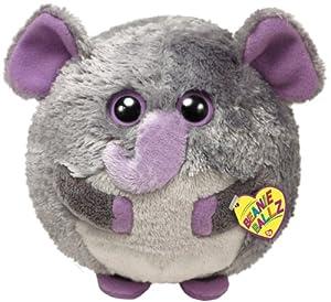 Ty Beanie Ballz Thunder Plush - Elephant, Large