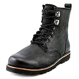 UGG Australia Men\'s Hannen Waterproof Casual Boot Black 9 M US