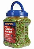 Crosman AirSoft Camo Ammo BBs, 10,000 count, .12g