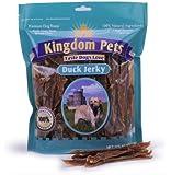 Kingdom Pets Premium Dog Treats, Duck Jerky, 40-Ounce Bag