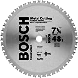 Bosch CB748ST 7-1/4-Inch 48 Tooth Metal Cutting Saw Blade with 5/8-Inch and Diamond Knockout Arbor