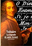 echange, troc Jean Goldzink - Voltaire : La Légende de saint Arouet