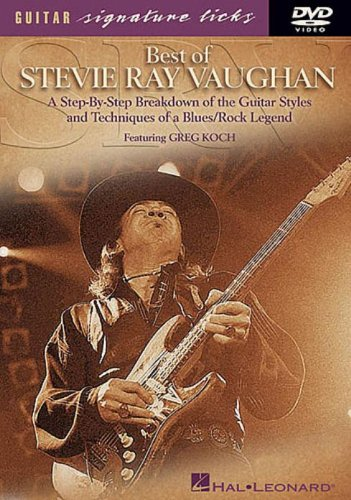 Cover art for  Best of Stevie Ray Vaughan