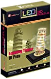 CubicFun Leaning Tower of Pisa Italy 3D LED Puzzle