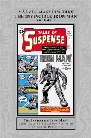 Marvel Masterworks: The Invincible Iron Man, Vol. 1 (Reprints TALES OF SUSPENSE #3950) (Hardcover)