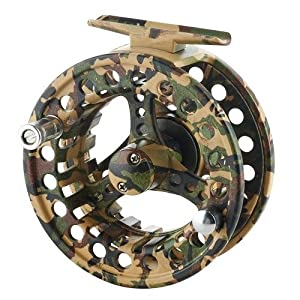 2+1 BB Aluminum Fly Reel 7/8 Flying Fishing Outside Diameter: 95mm Camouflage from Made in China