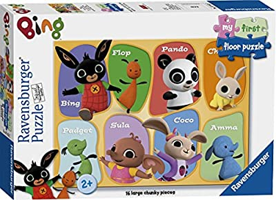 Ravensburger Bing Bunny My First Floor Puzzle 16 pieces