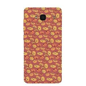 Back cover for Redmi 2 Pumpkin